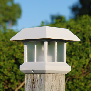 Solar Post Top Lights